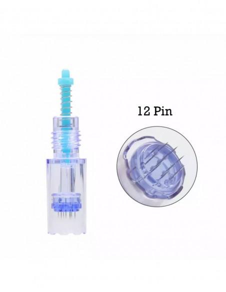 Brown İpli İşaretleme Kalemi Microblading ve Kalıcı Makyaj Yatay Uç Çizim Kalemi 1 Adet Siyah