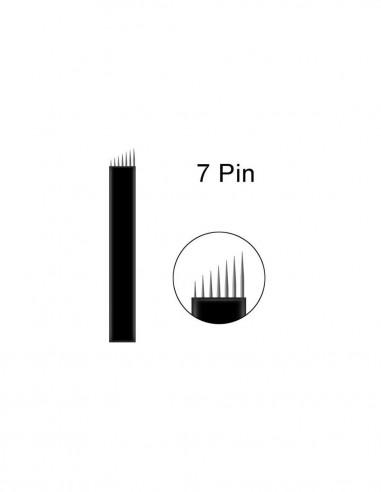 19 U Pin Silver New Microblading İğnesi