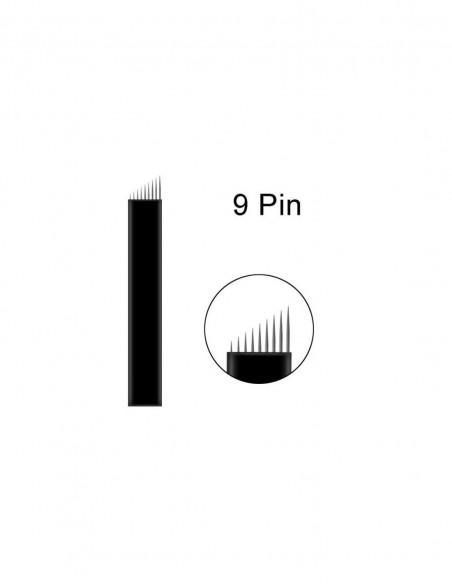 3 Round Blades Microblading İğnesi - 3R Yuvarlak Gölgeleme İğnesi
