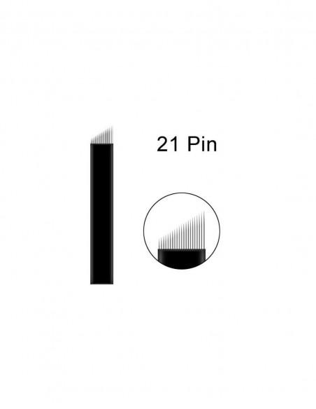 5 Round Blades Microblading İğnesi - 5R Yuvarlak Gölgeleme İğnesi